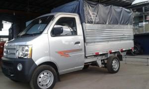 Xe tải nhẹ dongben 870kg thùng mui bạt