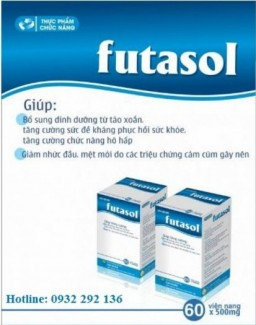 Futasol hỗ trợ điều trị cảm cúm, giúp phục hồi sức khỏe nhanh chóng.