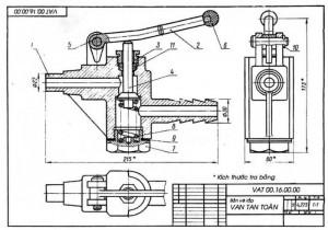 In bản vẽ CAD trên phần mềm AutoCAD