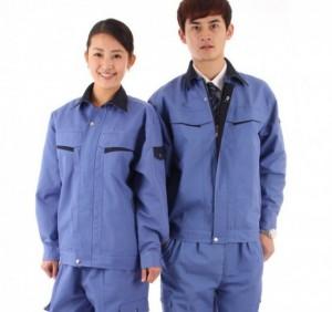 Quần áo bảo hộ lao động vải kaki cotton giá rẻ