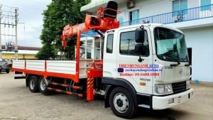 xe tải HYUNDAI 3 chân gắn cẩu 7 tấn