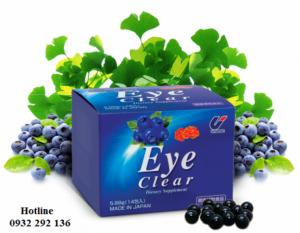 Eye clear tăng cường thị lực và khả năng tập trung trí não