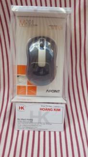 Chuột không dây cao cấp APOINT M201 ( pin sạc )