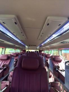 Chuyên bán xe khách 47 ghế và xe giường Model 2017