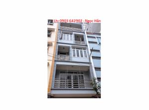 Bán nhà mặt tiền thụt Tôn Thất Tùng,Q1, DT: 4 x 17m, trệt- 3 lầu, nhà mới, giá rẻ
