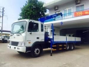 Xe tải gắn cẩu Hyundai HD210 chính hãng,...