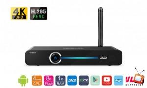 Chuyên cung cấp Android TV Box - Himedia Q3 IV (Chính hãng) tặng chuột bay M3