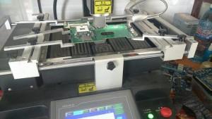 Máy đóng chipset VGA Trang thiết bị hiện đại