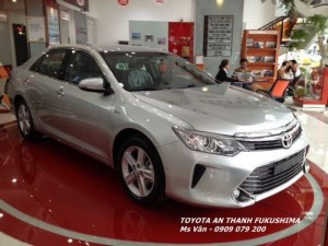 Toyota Camry 2017 giao xe ngay, Giảm lớn...