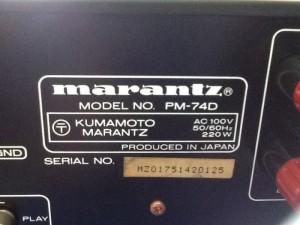 Chuyên bán ampli marantz PMA 74D  và nhiều ampli marantz đẹp mới zin 100%