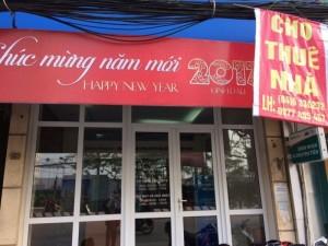 Cho Thuê Nhà 3 Tầng Mặt Phố Minh Khai