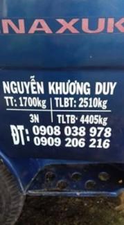 cần bán vinaxxuki 1t7 ( xe trong tình trạng...