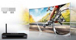 Hình Ảnh Chân Thật – Sắc Nét Đến Từng Chi Tiết Với độ phân giải UHD 4K ấn tượng, Kiwibox S8 Pro mang đến chất lượng hình ảnh gấp 4 lần so các Android TV Box giá rẻ của Kiwibox hiện nay. Nâng cao chất lượng hình ảnh thực như cuộc sống.