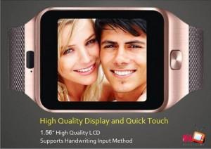 2, Màn hình cảm ứng sắc nét  Không khác gì bộ phim viễn tưởng, bạn hoàn toàn có thể sử dụng các chức năng cơ bản khi sử dụng màn hình cảm ứng của Smartwatch DZ09, màn hình hiển thị sắc nét, cảm ứng mượt mà đơn giản sử dụng.