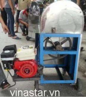 Sản xuất máy ép mía di động chạy xăng, máy ép mía siêu sạch 3 lô tại Hà Nội