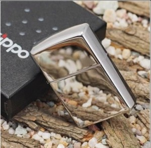 Hộp quẹt bạc cao cấp kiểu dáng Zippo