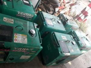 Thanh lý 4 máy phát điện chạy dầu 2kw nhật cũ giá rẻ