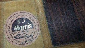 Morris guitar W 60, Morris M 60 và Morris MY 602 Nhật