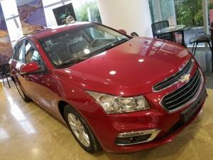 Chevrolet Cruze 2017 mới hỗ trợ vay 90% giá trị xe, lãi suất thấp