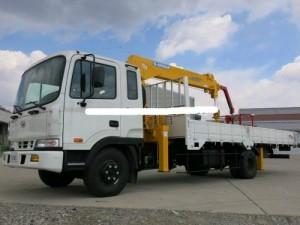 Bán xe tải Hyundai HD120 5 tấn có gắn cẩu Xuất xứ Hàn Quốc, giao ngay 2017