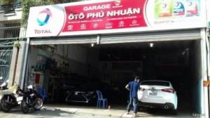 Gara Phú Nhuận sữa chữa xe hơi uy tín SG