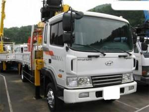 Bán  xe tải gắn cẩu Hyundai  5 tấn 2017 – Ô Tô Miền Nam