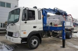 Bán xe tải Hyundai 5 tấn HD120 có gắn cẩu xuất xứ Hàn Quốc - Việt Nam 2017