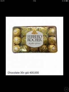 Socola - chocolate giá vốn