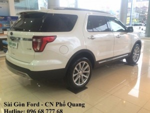 Gía xe Ford Explorer 2017 Limited