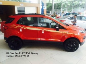 Giá xe Ford Ecosport 2017 số sàn, đủ màu, giao xe nhanh