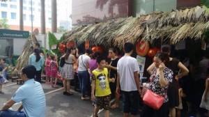 Hoa Sen - Cho thuê trang thiết bị làm hội chợ quê, hội làng 2017