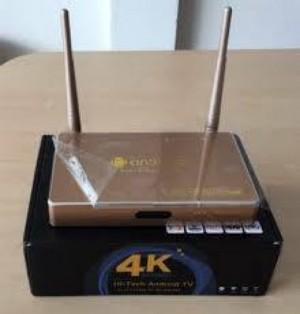 Android Box Hi-Tech chính hãng 4K- D568