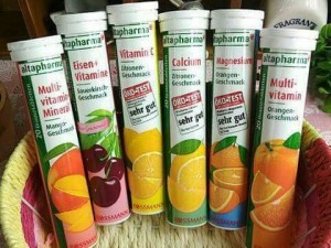 Viên sủi vitamin c của altapharma - đức