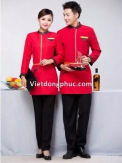 Mẫu đồng phục nhân viên phục vụ bàn đẹp