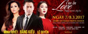 Liveshow đêm nhạc LUXURY CONCERT – I'M IN LOVE Bằng Kiều, Lệ Quyên, Minh Tuyết