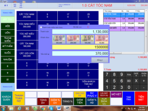 Phần mềm quản lý thu chi tính tiền tại Đồng Nai