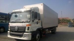 Xe Thaco Auman C160 thùng kín thích hợp chở hàng công ty