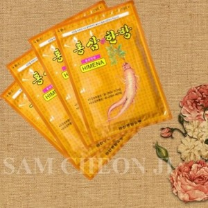 Miếng cao dán Sâm Hàn Quốc giảm nhức mỏi (20 miếng)