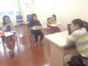 mô hình lớp học nhóm nhỏ