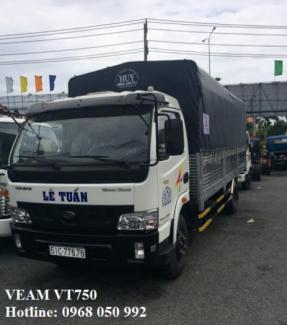 Xe tải giá rẻ tại tphcm/ xe tải Veam 7t5