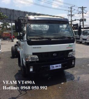 Gía xe tải Veam VT490 4 tấn