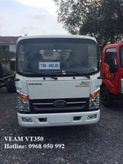 Gía xe tải Veam VT350 tải trọng 3,5 tấn thùng...