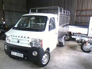 Xe tải dongben 870 kg, thùng dài 2m4 trả góp gia rẻ
