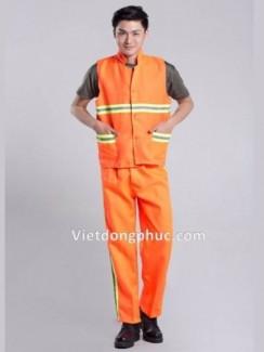 Đồng phục bảo hộ lao động đẹp 2017