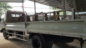 Xe tải hyundai hd72 3t5 thùng lửng dài 4m8 cũ