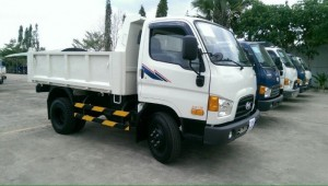 Xe tải Hyundai chuyên dùng ( Xe tải Ben 4.6m3 ) Bán giá tốt nhất miền nam