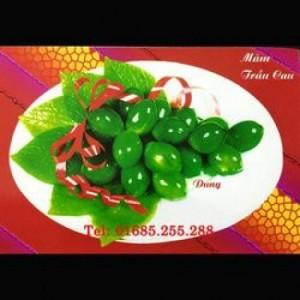 Khuôn làm rau câu nổi – Trầu cau - Mã số 42  - Giá bán: 60.000 vnđ/ bộ  - Sản xuất: Việt Nam