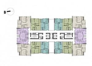 Bán căn hộ 2PN chỉ 1,35 tỷ trung tâm quận Cầu Giấy, Mỹ Đình