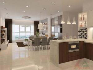 Bán gấp căn hộ Thảo Điền Pearl, giá 3.8 tỷ, 115m2, tặng đủ nội thất