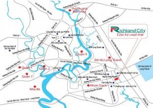 Bán gấp đất kdt richland city nhơn trạch, gần kề kcn, bao sang tên.